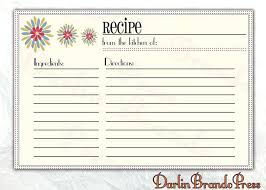printable recipe cards template recipe template printable free printable recipe cards recipe book