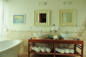 wall decor for bathroom ideas shells and pebbles brighten up a bathroom hometalk