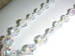 crystal bead necklace images Handcrafted bead necklace necklace and earring jewelry sets jpg