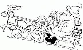 coloring pages of santa claus for kids christmas coloring pages