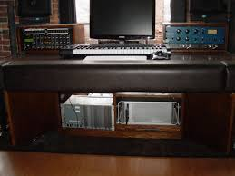 Recording Studio Workstation Desk by Studio Desks Scs Composer Keyboard Desks Aurora Studio Desk By