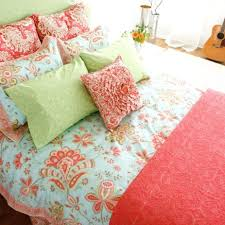Coral Colored Comforters Bedding Design Wondrous Cream Colored Bedding Bedroom Space