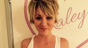 penny bun hairstyle big bang kaley cuoco pink hair i m obsessed