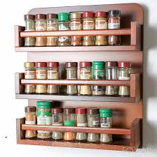 Wall Spice Racks For Kitchen The 25 Best Wooden Spice Rack Ideas On Pinterest Spice Racks