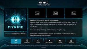 myriad add on for kodi how to install myriad and guided tour
