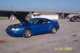 2000 blue mustang 2000 ford mustang gt 1 4 mile trap speeds 0 60 dragtimes com