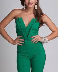 corset jumpsuit bengaline sleeveless plunge neckline corset jumpsuit