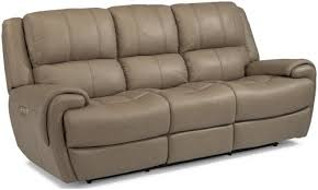 Flexsteel Reclining Sofas Flexsteel Latitudes Nance Casual Power Reclining Sofa With Power