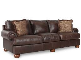 Ashley Leather Living Room Furniture Ashley Axiom Leather Sofa Mathis Brothers