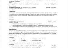 Example One Page Resume by Contractor Resume Haadyaooverbayresort Com