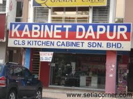 Cls Kitchen Cabinet Setia Alam - Cls kitchen cabinet