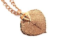 real leaf necklace images Real leaf jewellery arborvitaonline twitter jpg