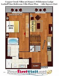 disney bay lake tower floor plan 93 bay lake tower two bedroom villa floor plan bay lake tower two
