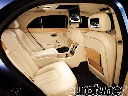 bentley continental flying spur rear bentley mulsanne executive interior theatre and ipad eurotuner