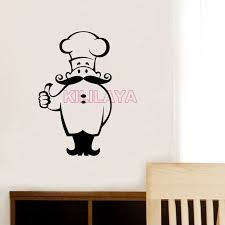Wall Stickers For Kitchen by Stickers Kitchen Chef Cook Vinyl Wall Sticker Decals Murals Tile