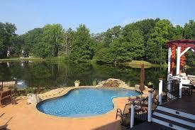 wet edge beautiful pool finishes