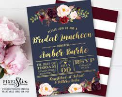 bridal luncheon decorations bridal luncheon etsy