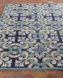 Teal Outdoor Rug Designer Rugs Outdoor U0026 Flatweave Rugs At Neiman Marcus Horchow