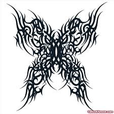 best black tribal gothic tattoo design tattoo viewer com
