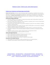 Job Resume Skills And Abilities by Sample Resume Patient Care Assistant Resume For Your Job Application