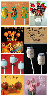 Halloween Cake Pop Ideas by Best 25 Fall Cake Pops Ideas Only On Pinterest Caramel Apples