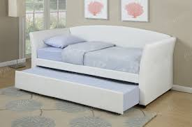 Leather Daybed With Trundle Twin Bed Day Bed Bedroom Furniture Showroom Categories