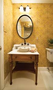 Unique Vessel Sink Vanities The Powder Room U0027s Furniture Style Vanity With Vessel Sink