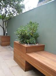 best 25 courtyard design ideas on concrete bench best 25 planter bench ideas on diy bag planter