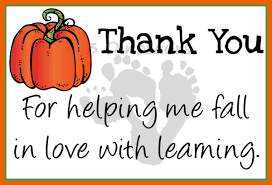free fall thank you notes for teachers 3 dinosaurs