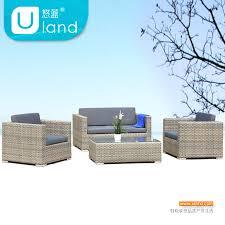 Sofa With Rattan Seat Cushion Foshan Furniture Pastoral Outdoor - Lying sofa 2