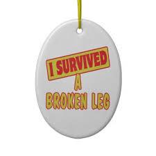 9 best broken leg ornament images on broken