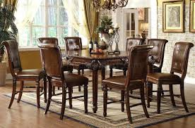 costco furniture dining room carlyle counter height dining table with butterfly leaf round for