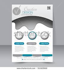 healthy flyer brochure layout banner poster stock vector 695548288