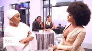 Rhoa Nene Leakes Confronts Porsha Williams About Their Issues