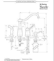 price pfister marielle kitchen faucet pfister f0264nss marielle 1 handle kitchen faucet with side spray