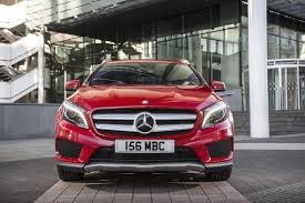 mercedes benz jeep red mercedes gla 200 cdi amg line 2014 review by car magazine