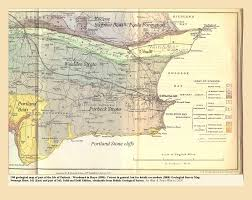 Devon England Map by Geology Of The Central South Coast Of England Introduction And Maps