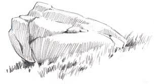 how to draw rocks john muir laws