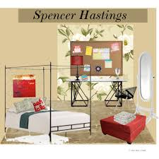 Spencer Home Decor Pretty Little Liars Room Inspiration Spencer Hastings Polyvore