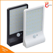 china newest 450lm 36 led solar powered light pir motion