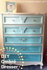 Dresser Ideas 129 Best Ombre Painted Furniture Images On Pinterest Painted