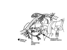 68 mustang headlight wiring diagram wiring automotive wiring