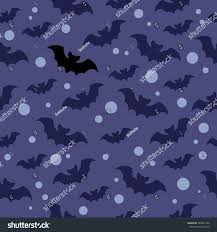 purple and black halloween background seamless vector pattern blue black bats stock vector 488401726