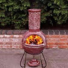 Chiminea San Diego Clay Chiminea Fire Pit Fire Pit Ideas