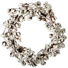 home decorators collection fall garland wreaths fall 26 in artificial cotton wreath