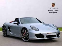 pistonheads porsche boxster used 2014 porsche boxster 3 4 s pdk for sale in nottinghamshire