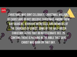 what religions do not celebrate