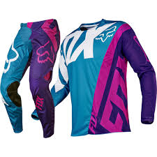 australian motocross gear fox racing 2017 mx new 360 creo teal purple jersey pants motocross