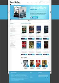 templates for bookshop free book store ecommerce template website css templates
