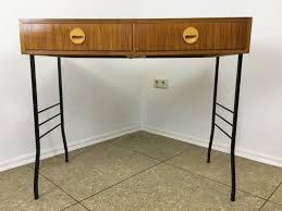 Schreibtisch Design Klein 60s 70s Schreibtisch Teak Danish Modern Writing Desk Mid Century